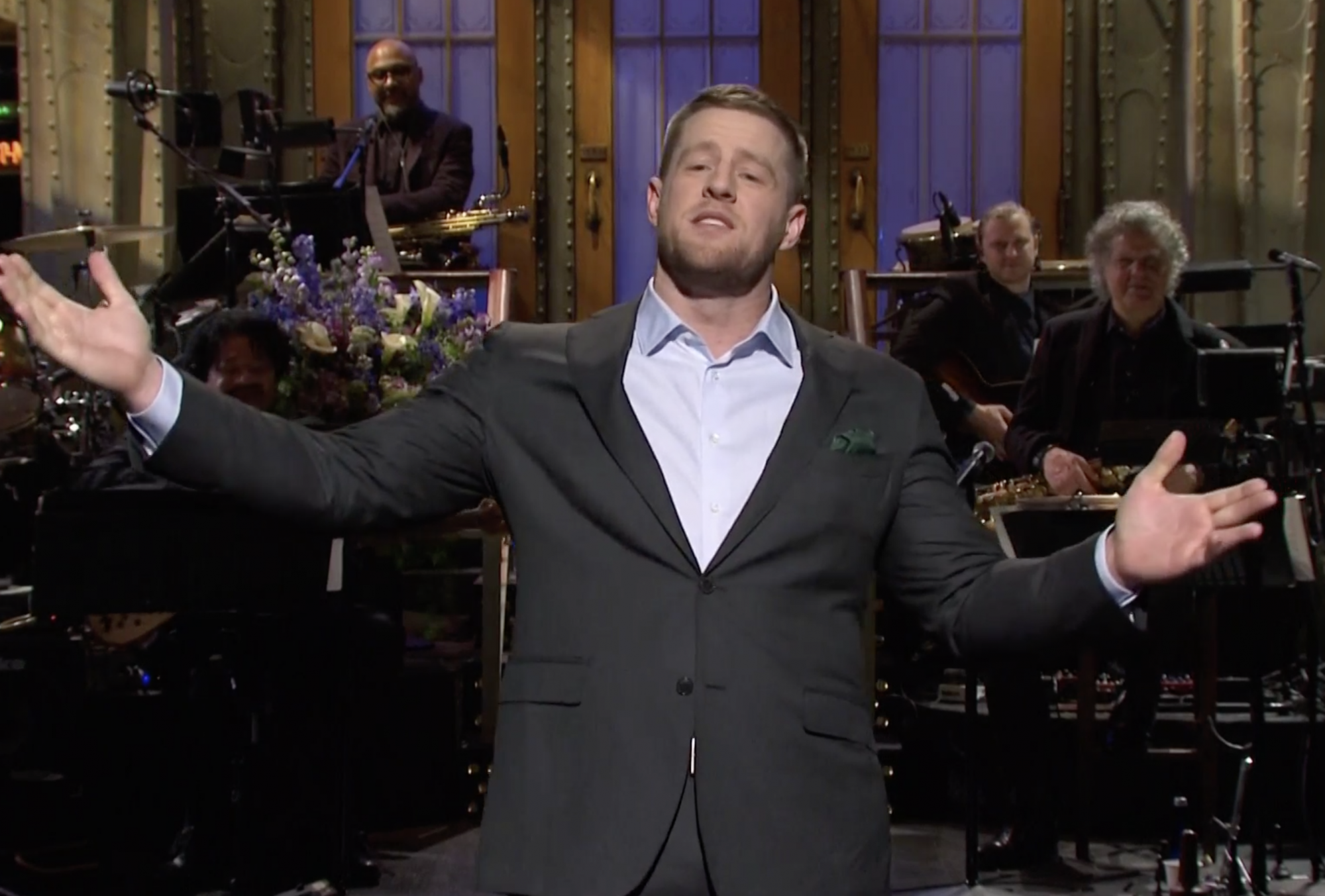 J.J. Watt hosts 'SNL'