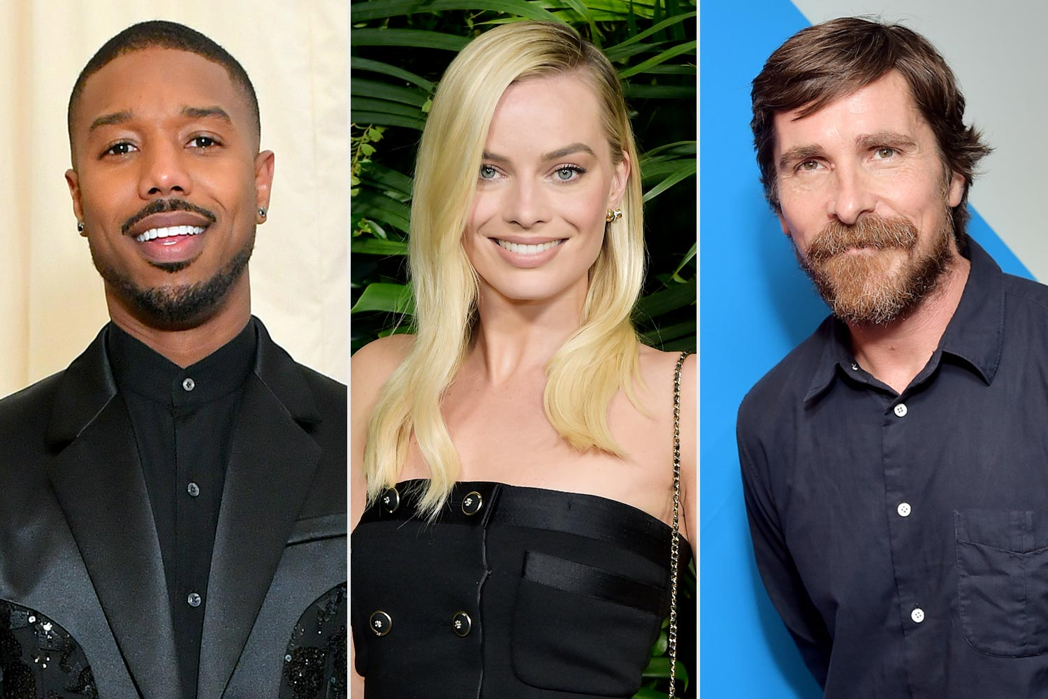 Michael B. Jordan; Margot Robbie; Christian Bale