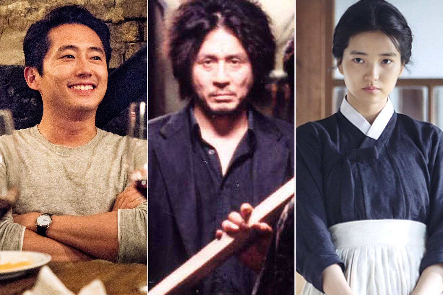 Burning / Oldboy / The Handmaiden