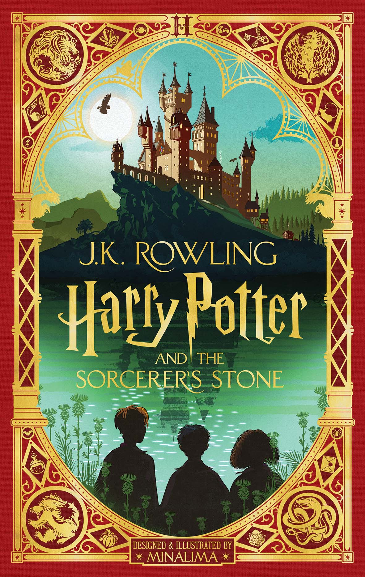 Harry Potter and the Sorcerer's Stone designed by Minalima