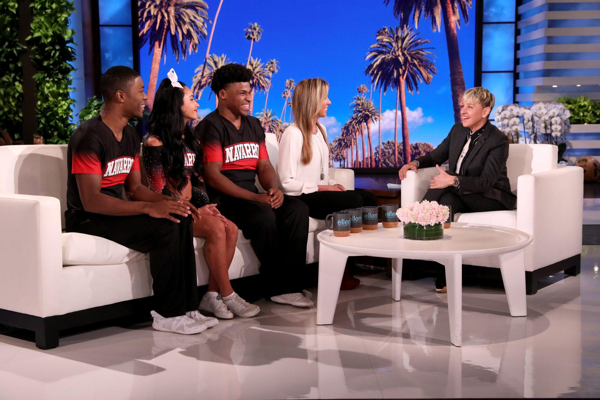 Cheer Netflix Ellen DeGeneres