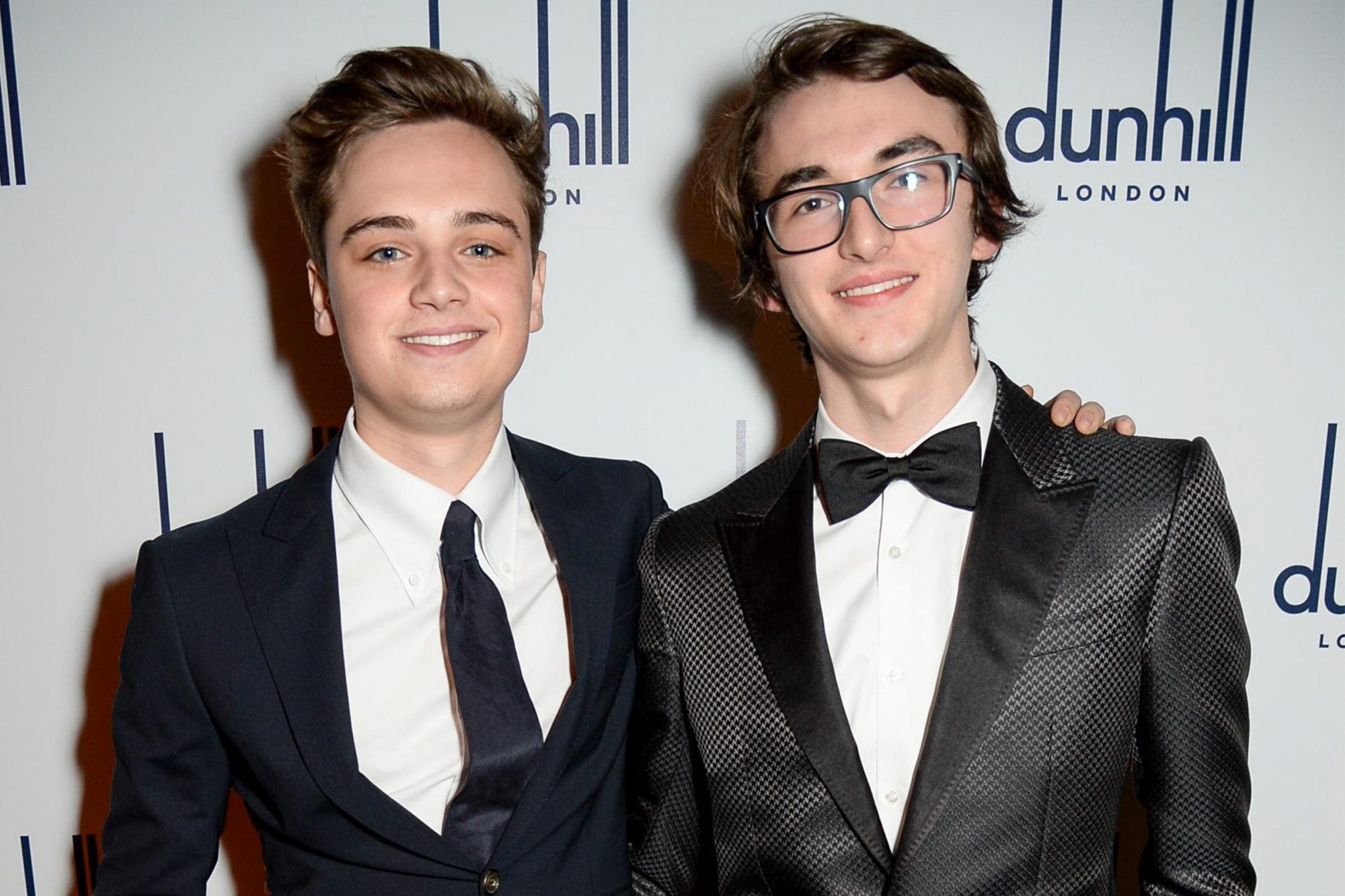 Dean-Charles Chapman and Isaac Hempstead Wright