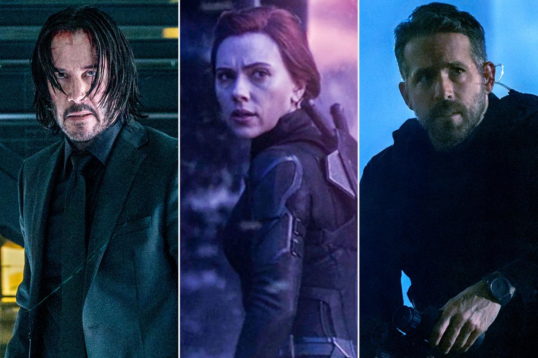 John Wick Chapter 3; Avengers; Endgame; 6 Underground