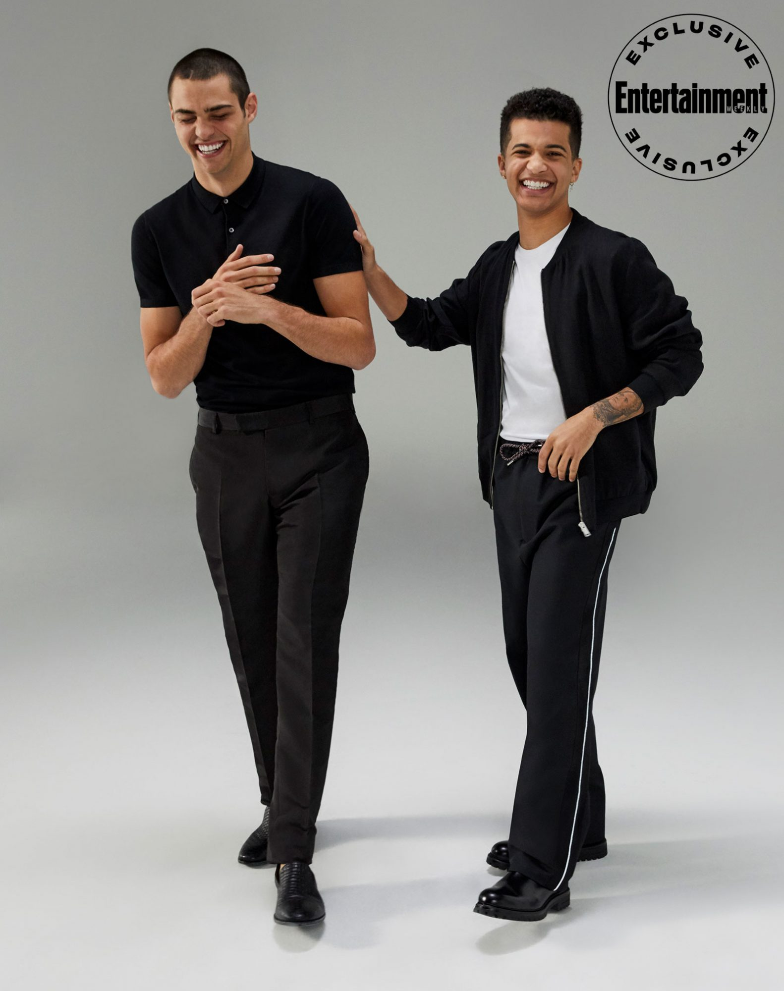 Noah Centineo and Jordan Fisher