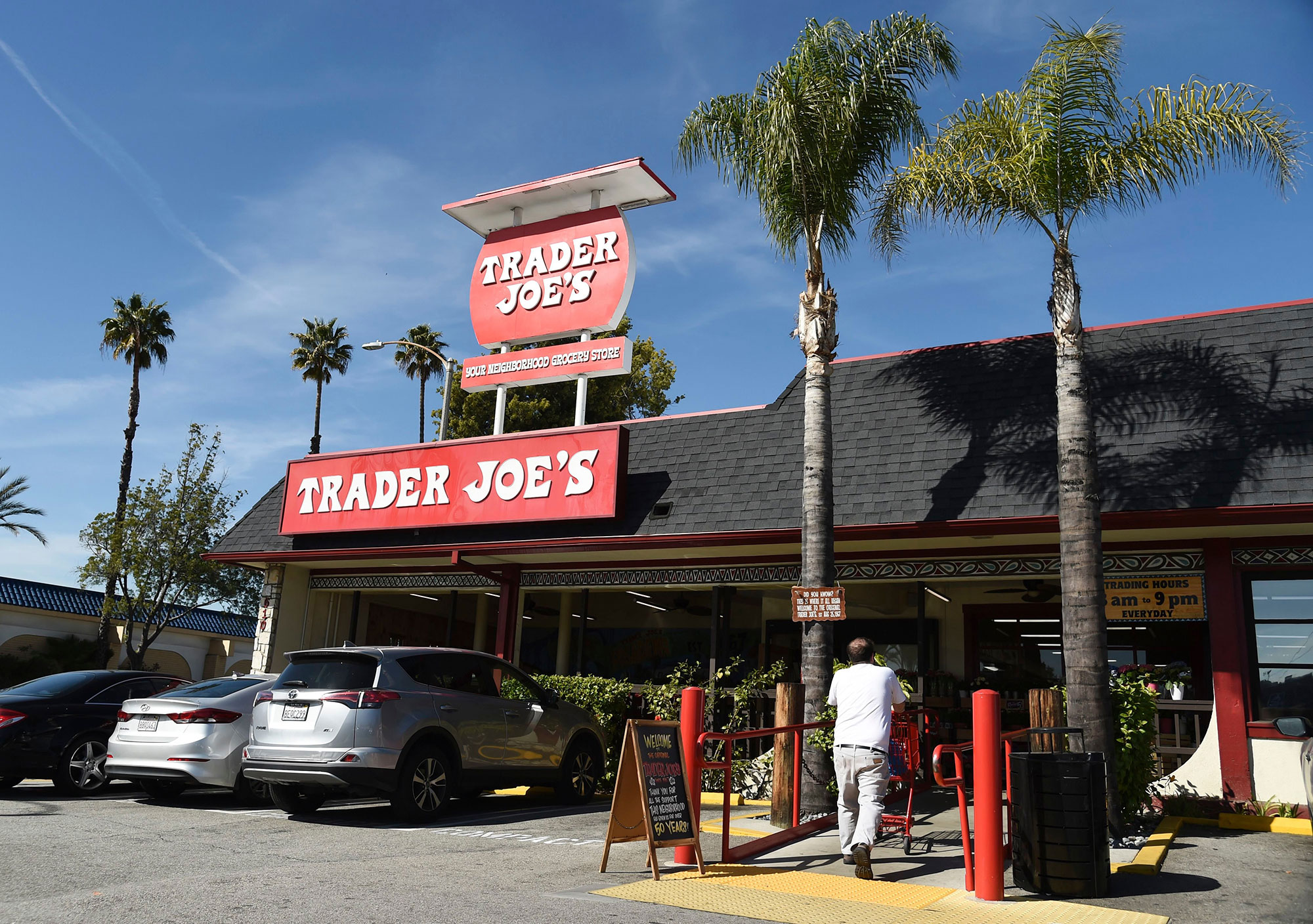Obit Trader Joe's Founder, Pasadena, USA - 26 Feb 2020