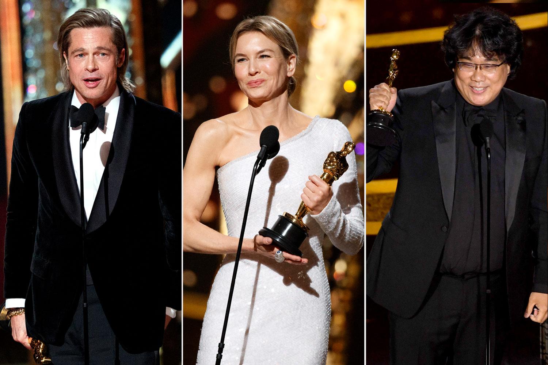Brad Pitt, Renee Zellweger, Bong Joon-ho