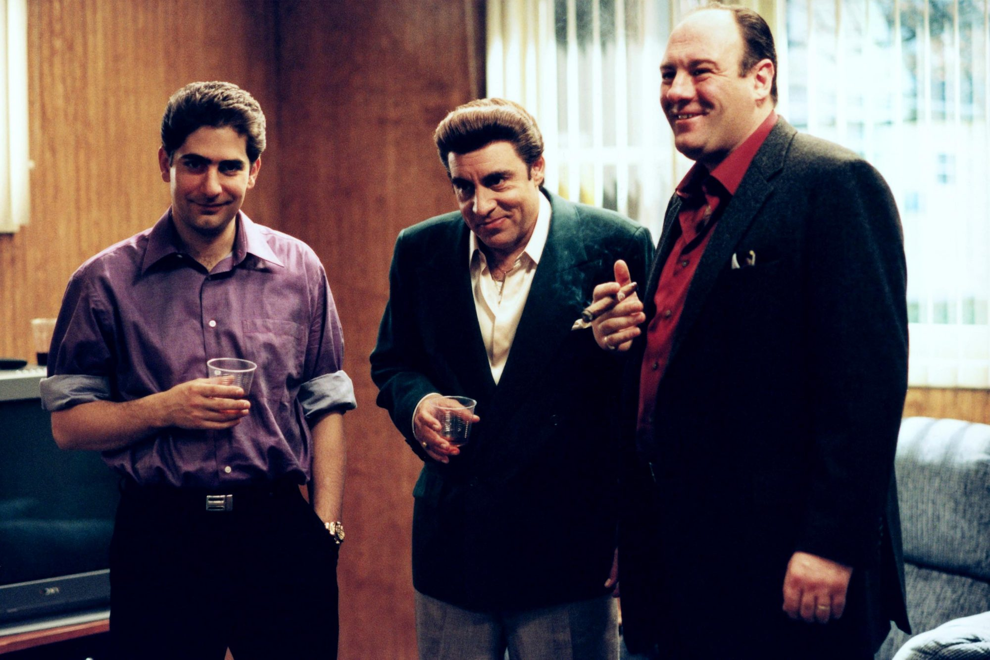 THE SOPRANOS:  Michael Imperioli, Steven Van Zandt, James Gandolfini