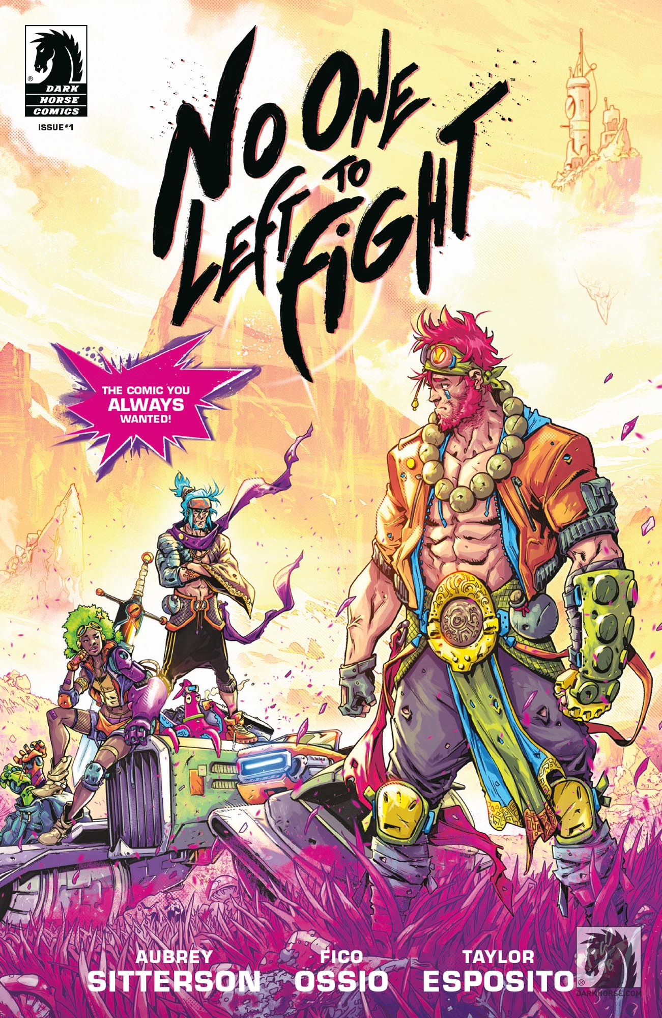 No One Left to Fight Issue #1