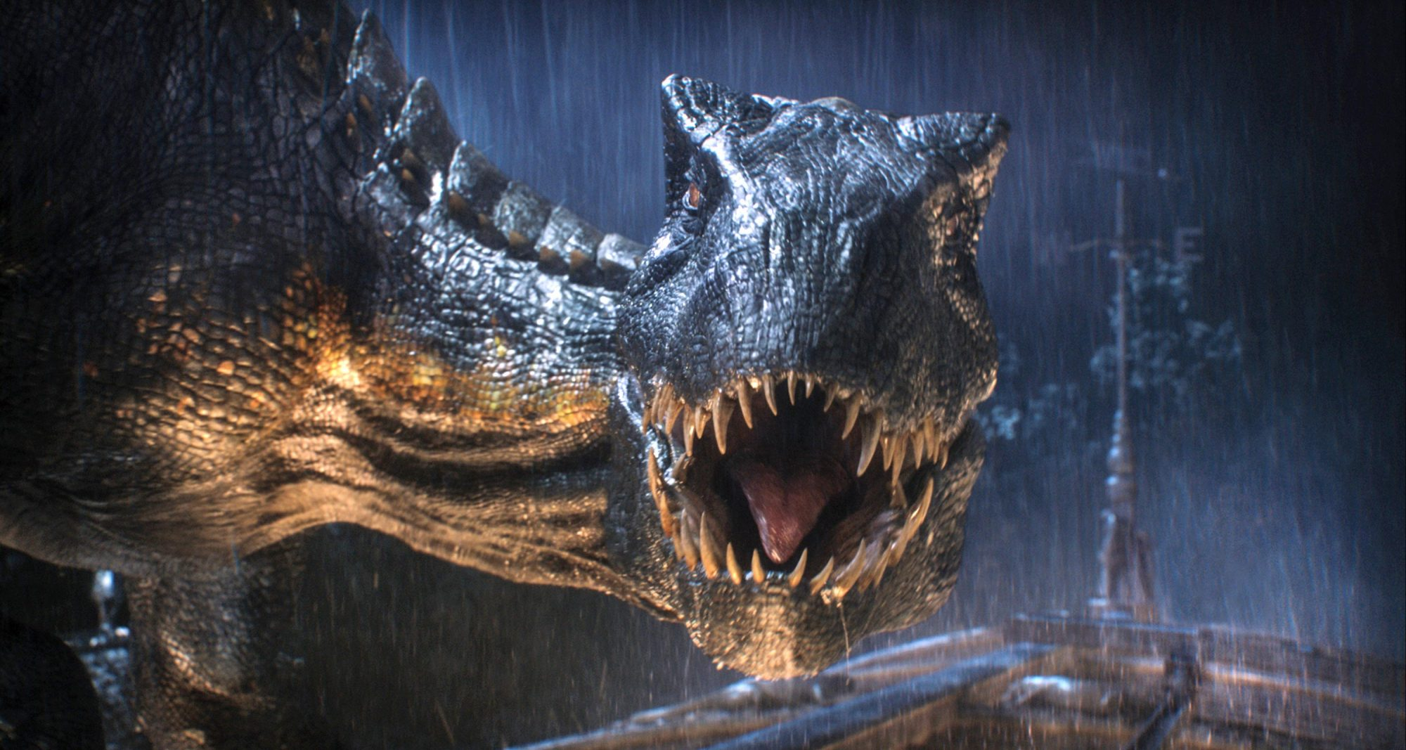 Jurassic World: Fallen Kingdom.