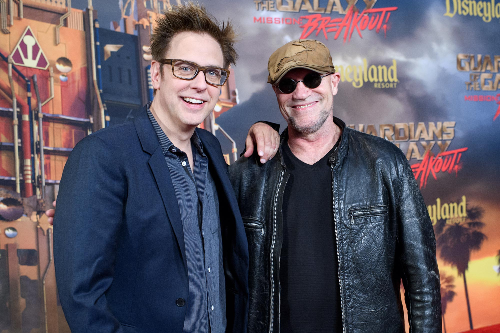 James Gunn and Michael Rooke
