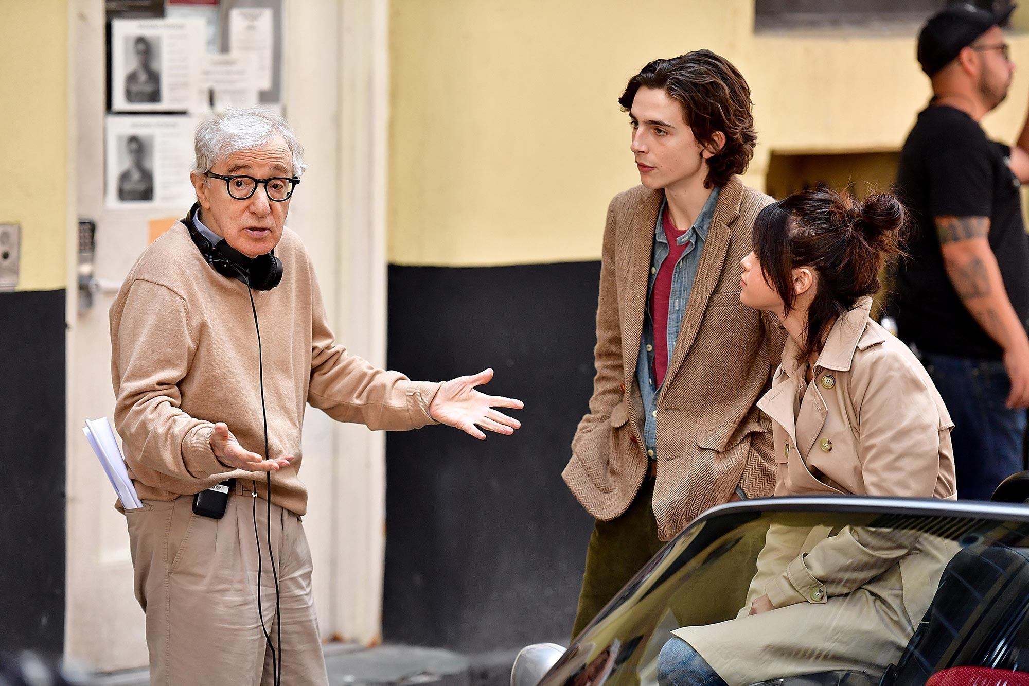 Woody Allen, Timothee Chalamet