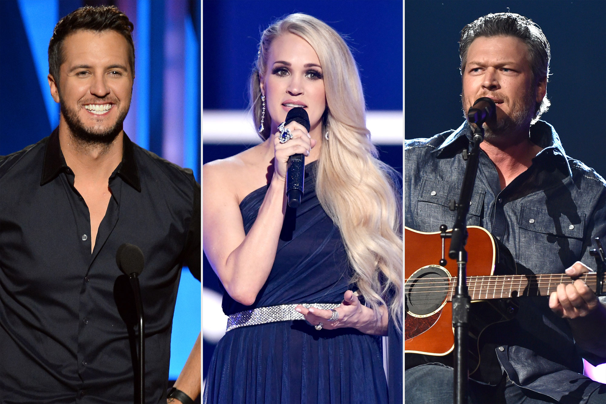 Luke Bryan, Carrie Underwood, Blake Shelton ACM replacement concert