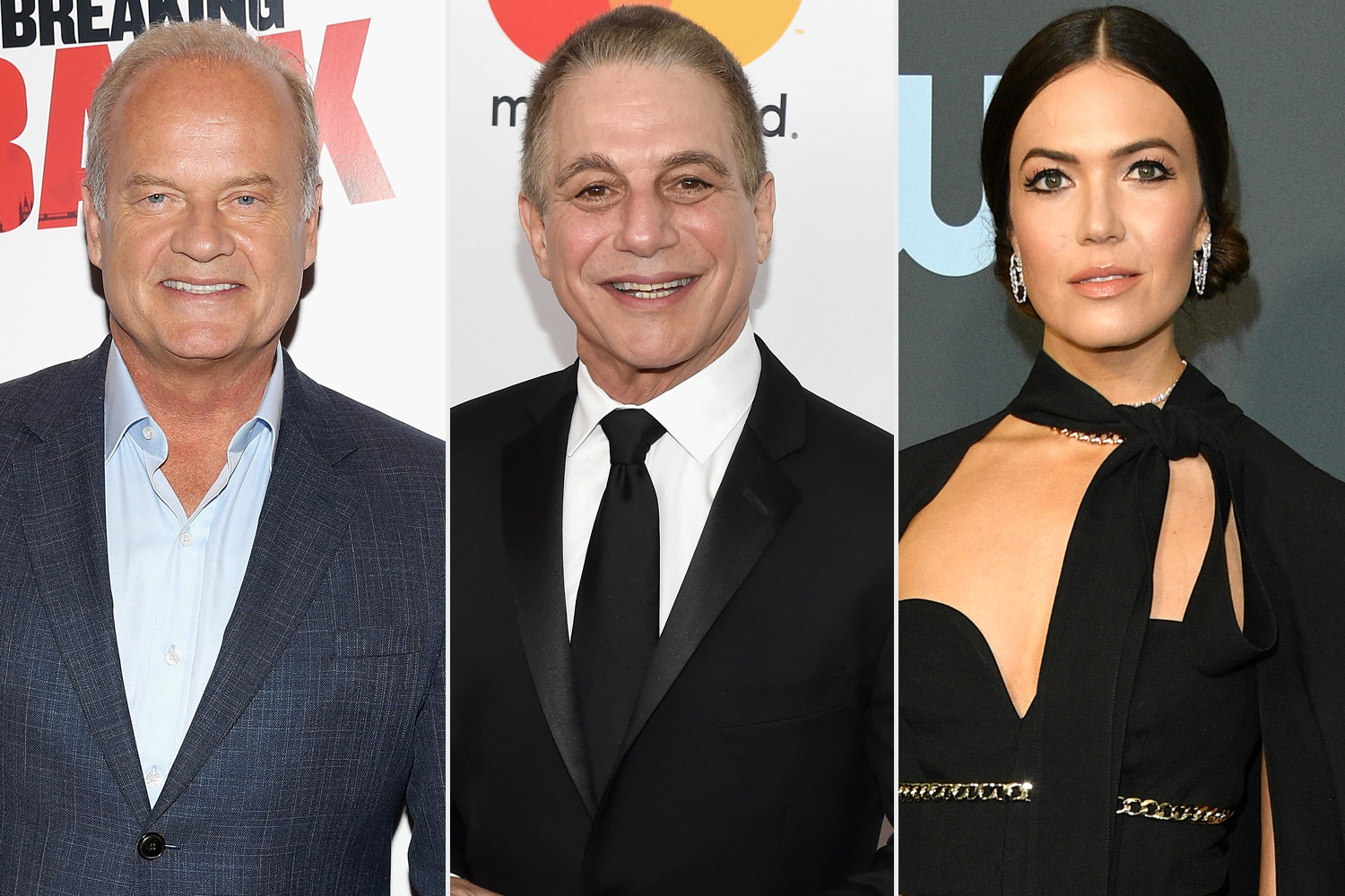 Kelsey Grammer, Tony Danza, and Mandy Moore
