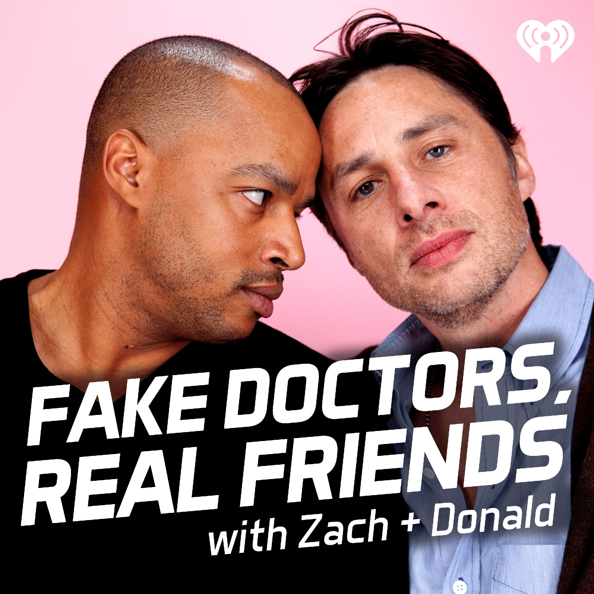 Fake Doctors, Real Friends Scrubs Podcast