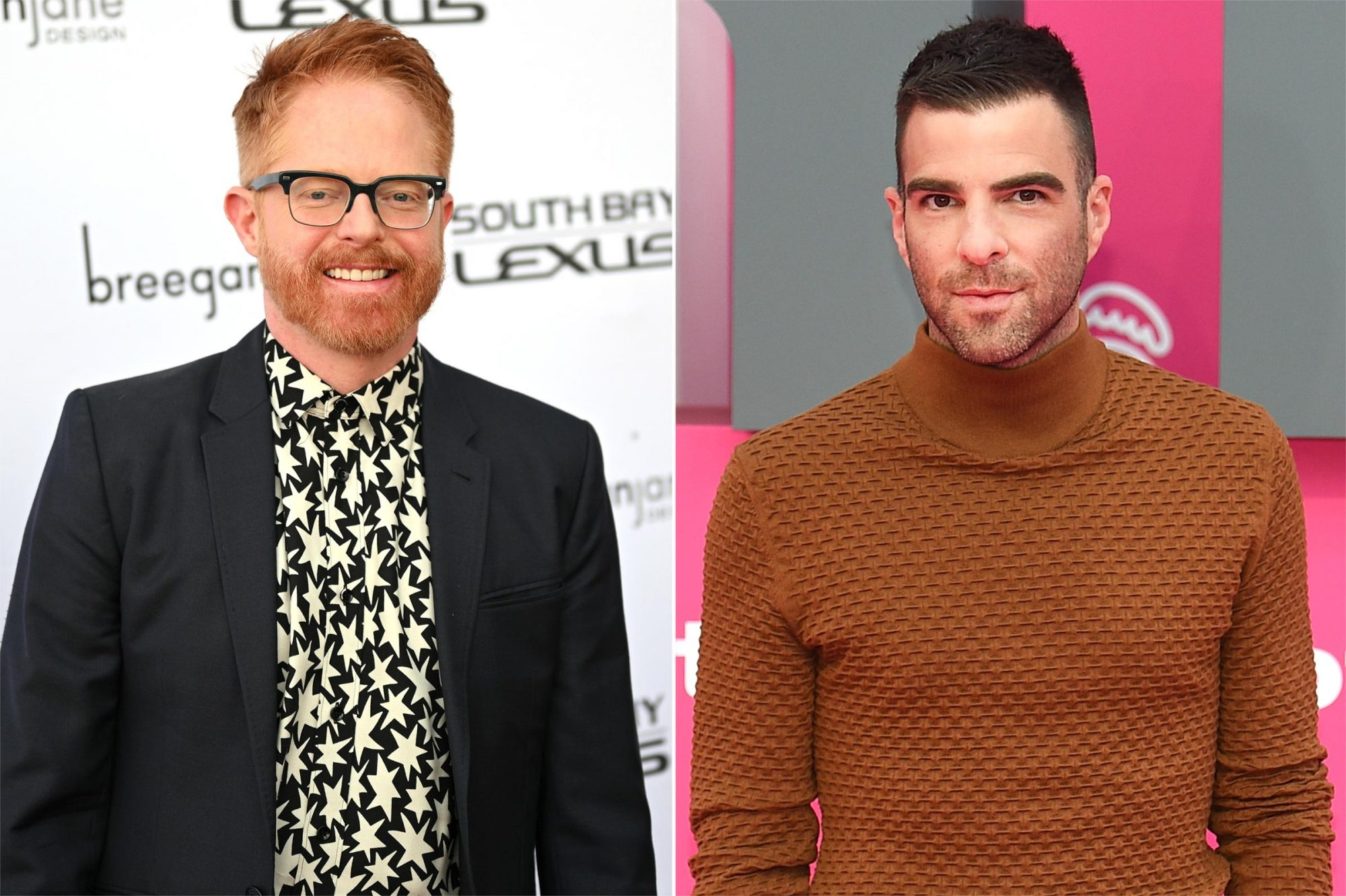 Jesse Tyler Ferguson and Zachary Quinto