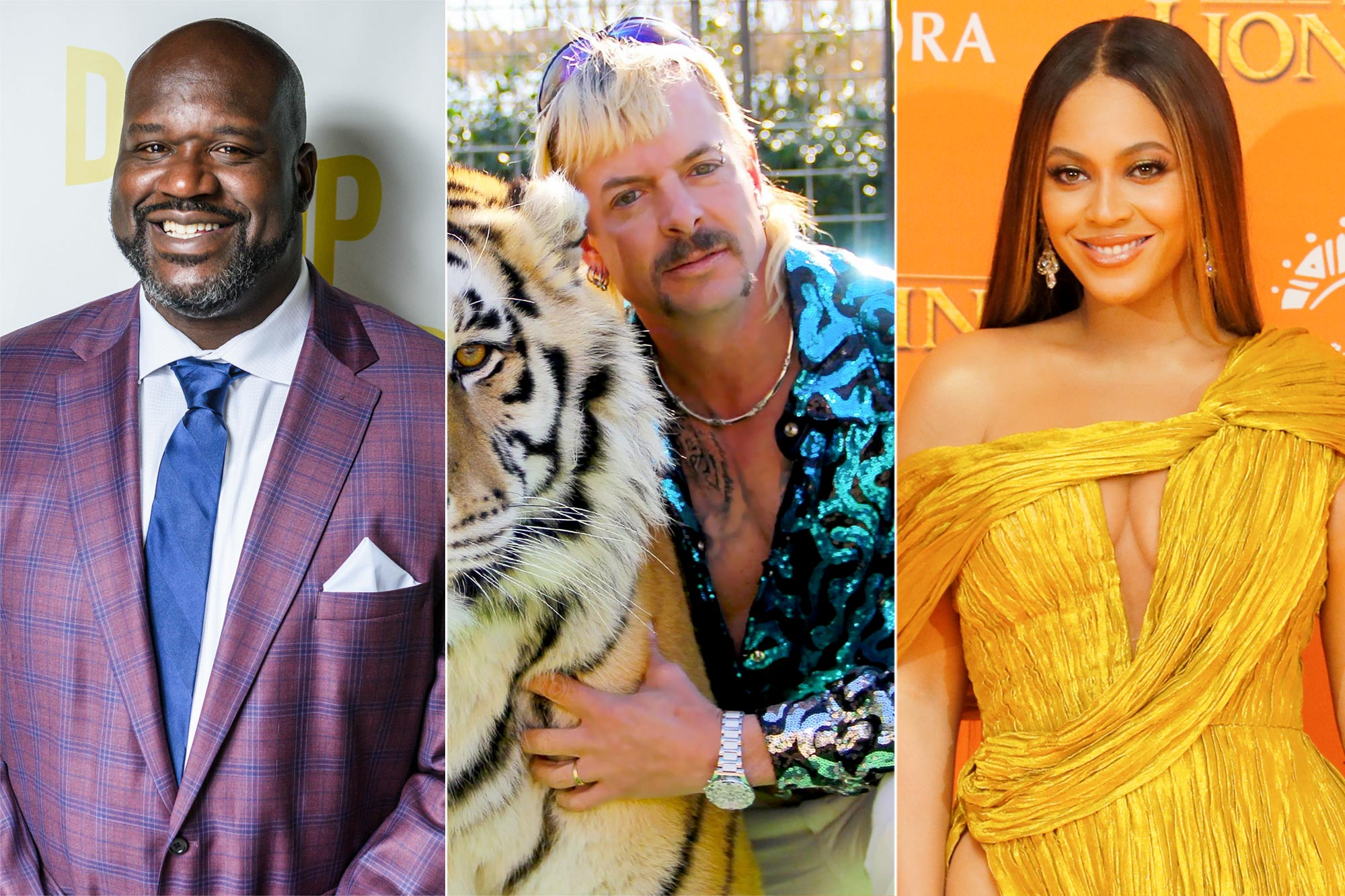Shaquille O'Neal, Tiger King, Beyonce