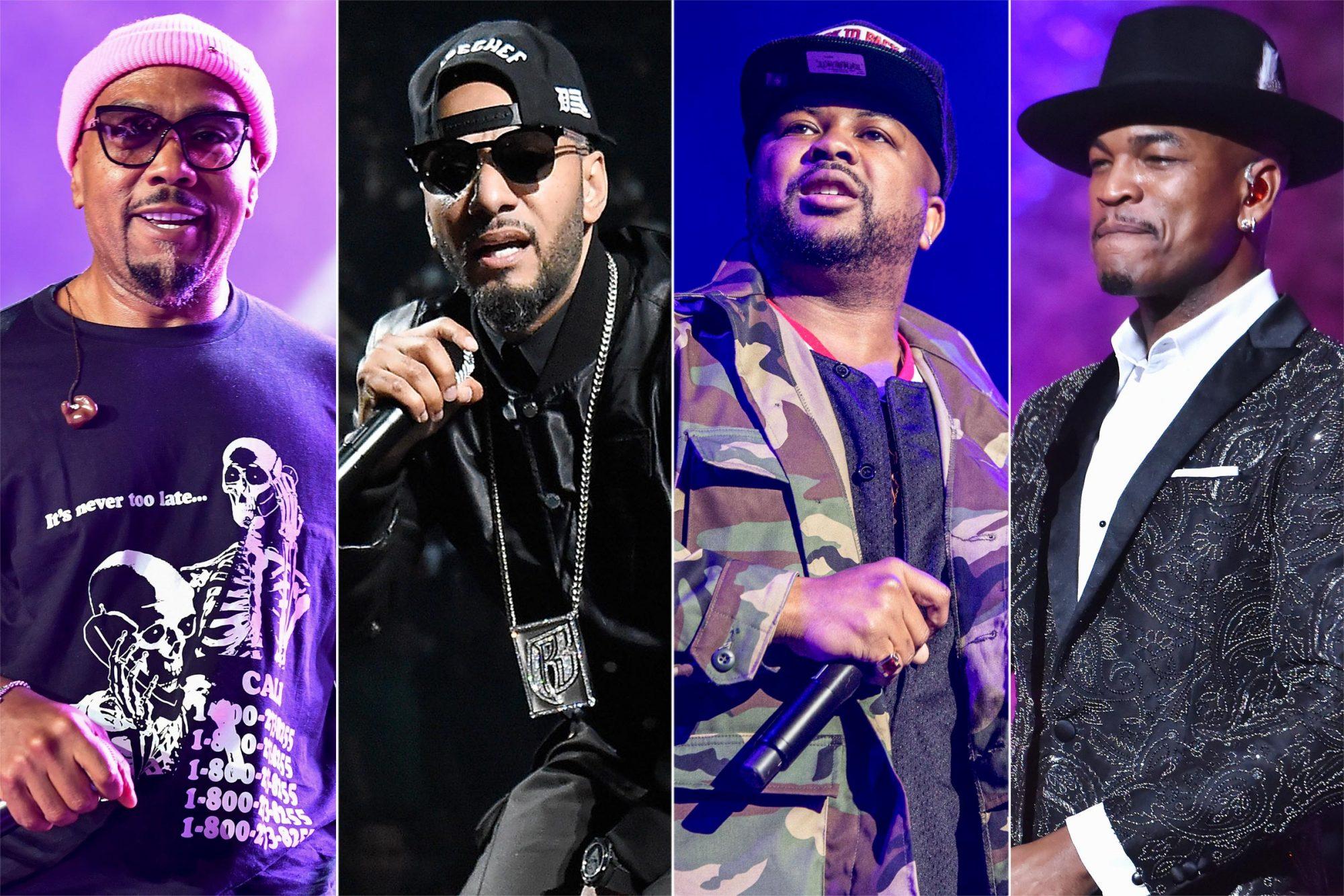 Timbaland, Swizz Beatz, The-Dream, and Ne-Yo
