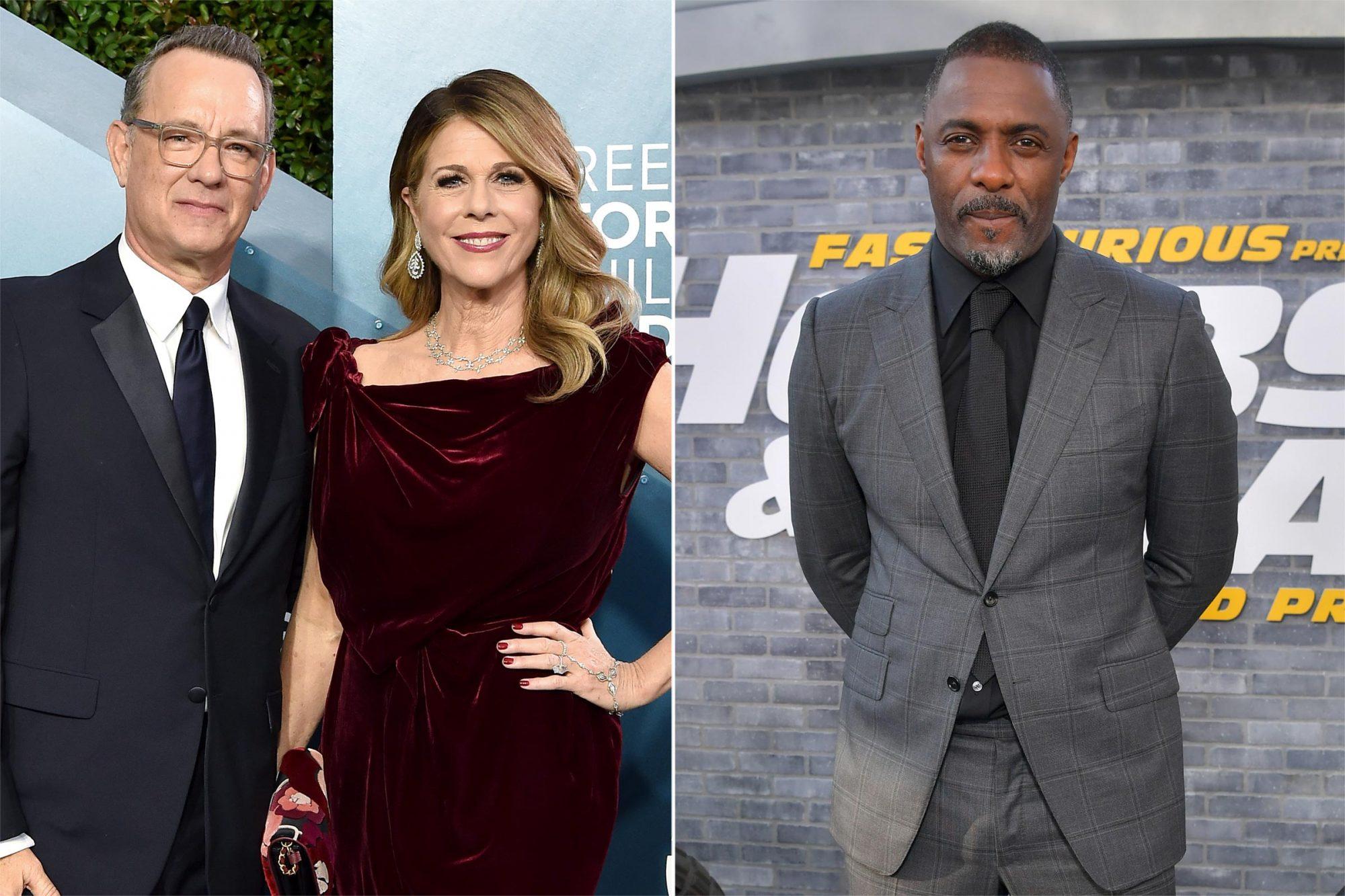 Tom Hanks and Rita Wilson, Idris Elba