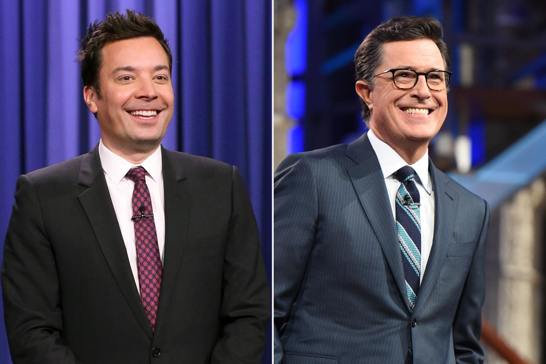 Jimmy Fallon; Stephen Colbert