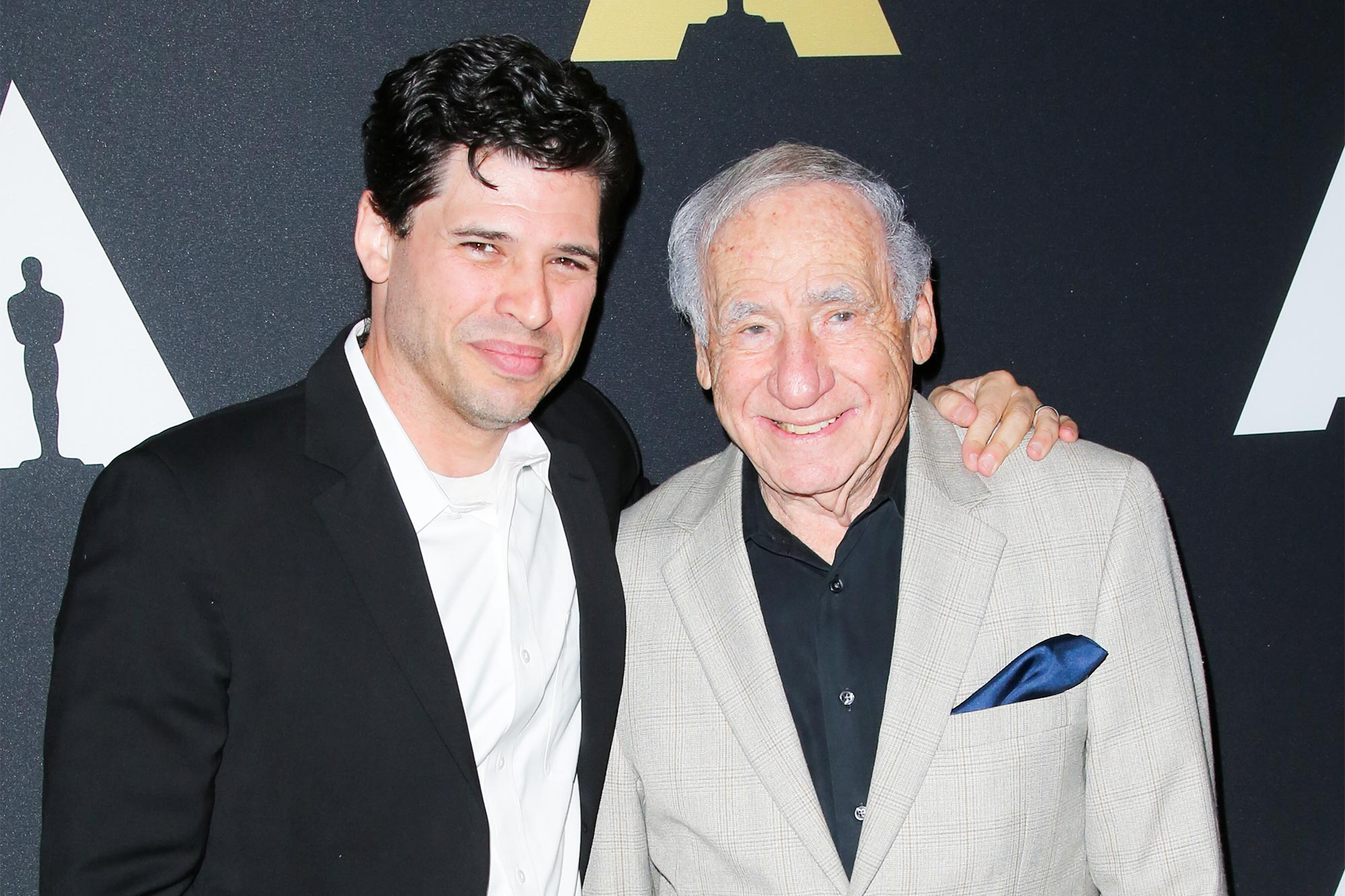 Max Brooks and Mel Brooks