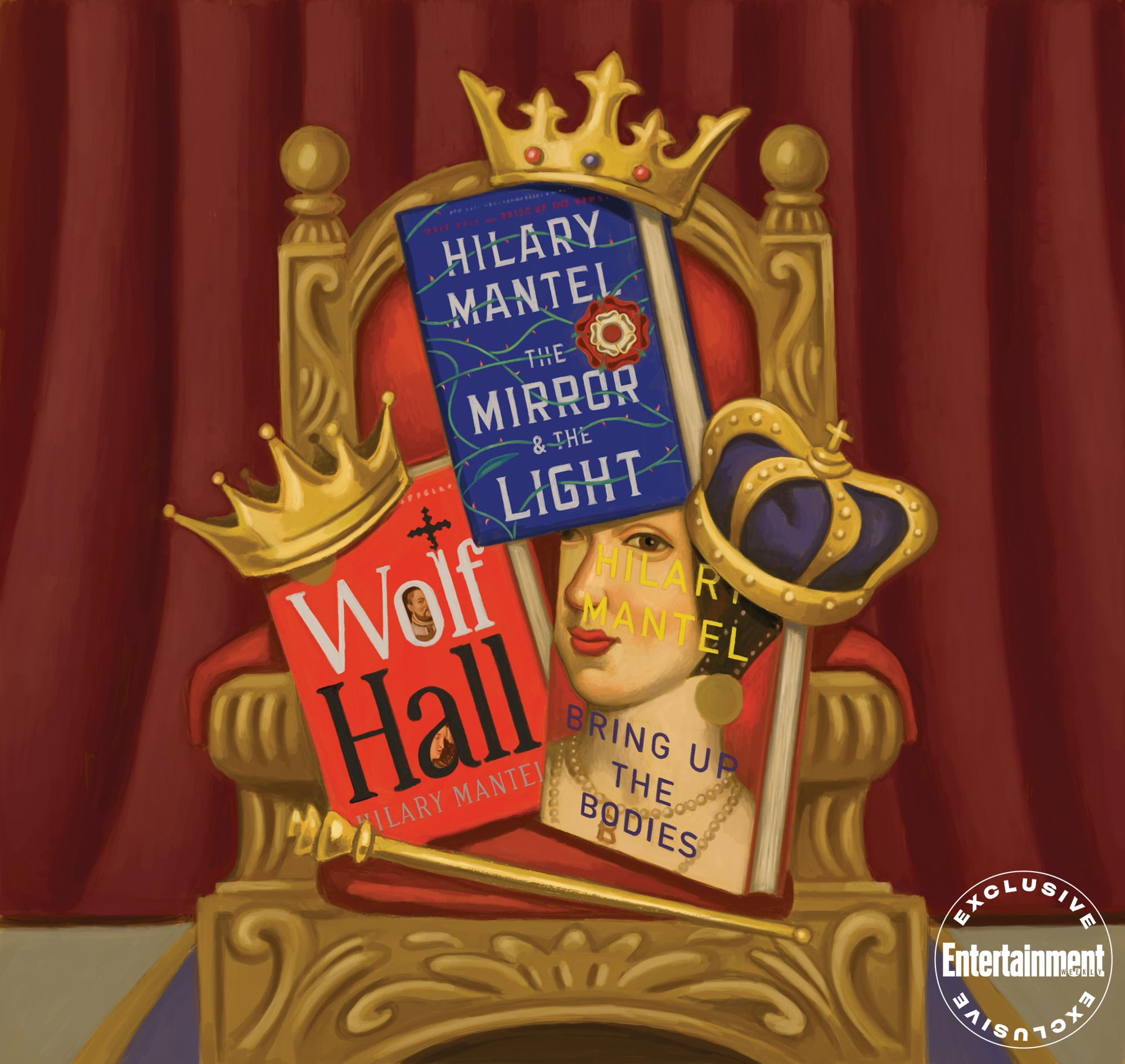 Wolf Hall Books Triple Crown