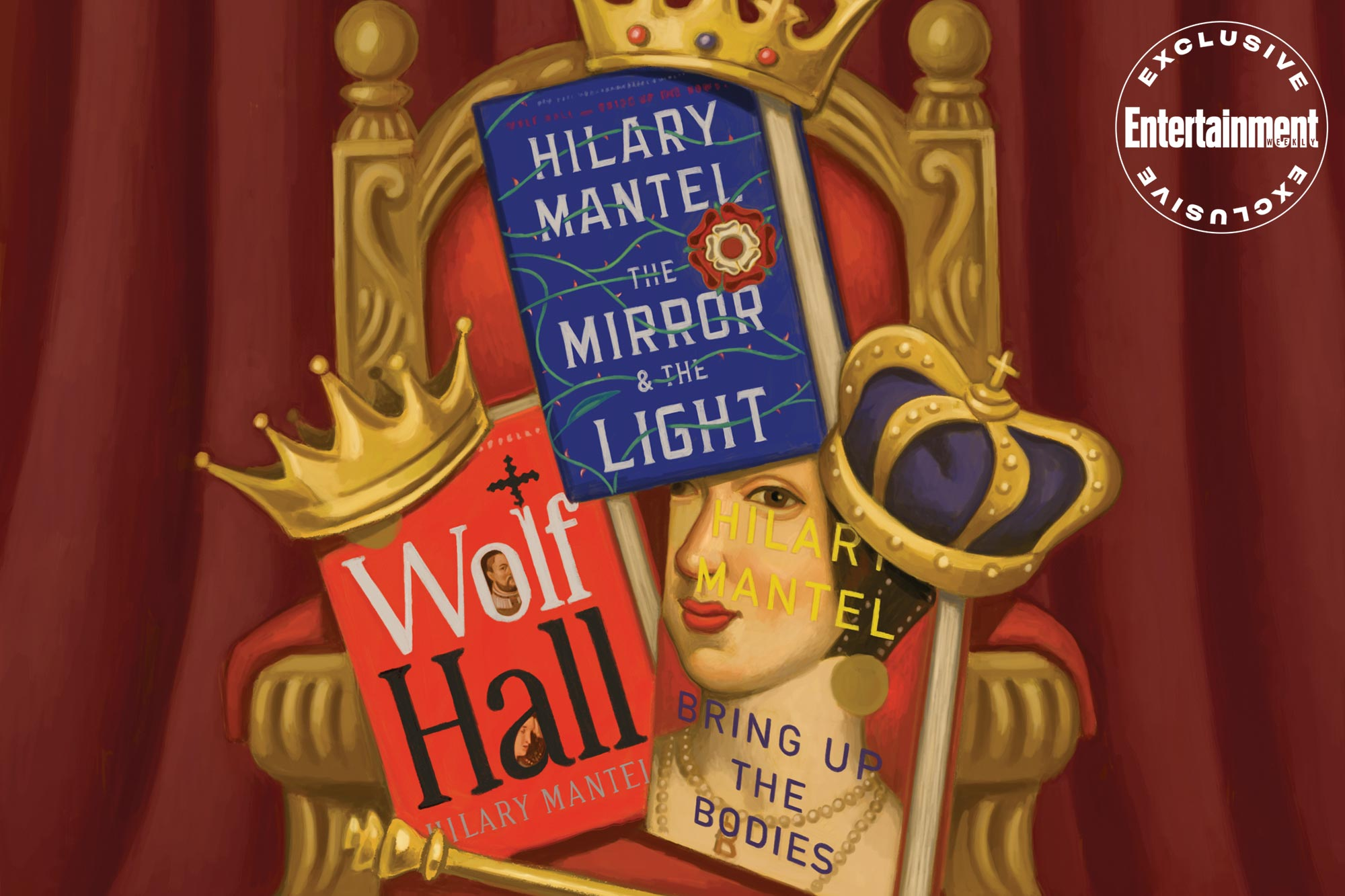 Wolf Hall Books by Hilary Mantel