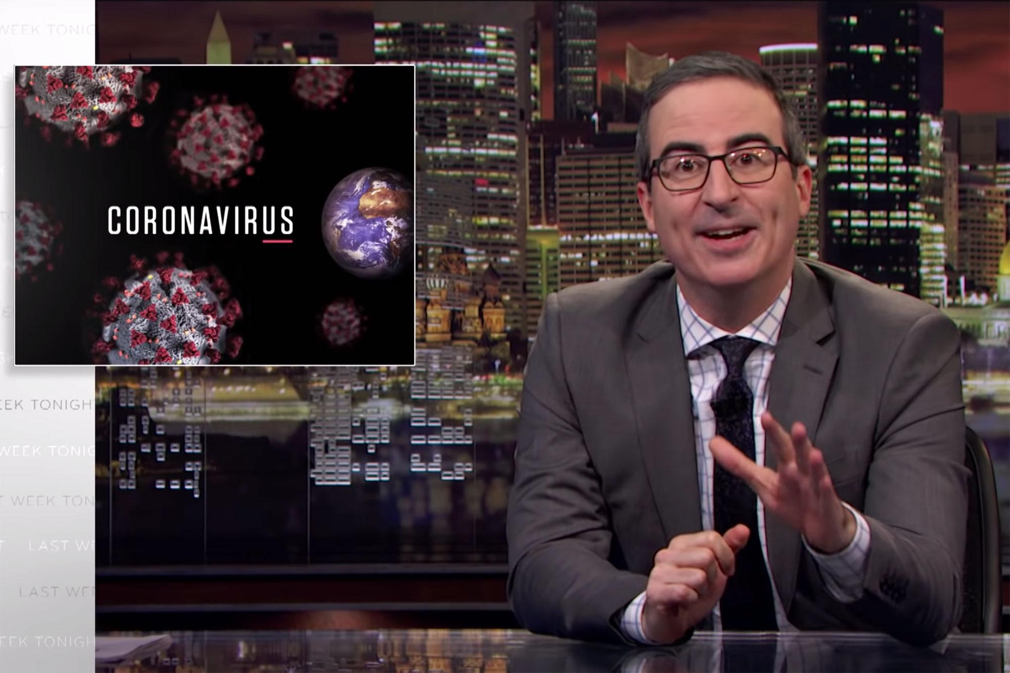 Coronavirus: Last Week Tonight with John Oliver (HBO)