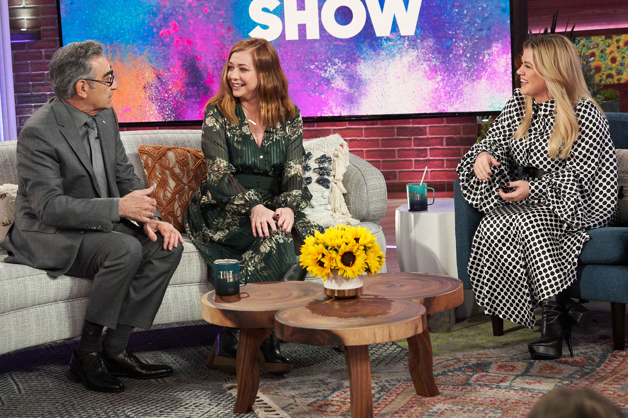 Eugene Levy, Alyson Hannigan, Kelly Clarkson