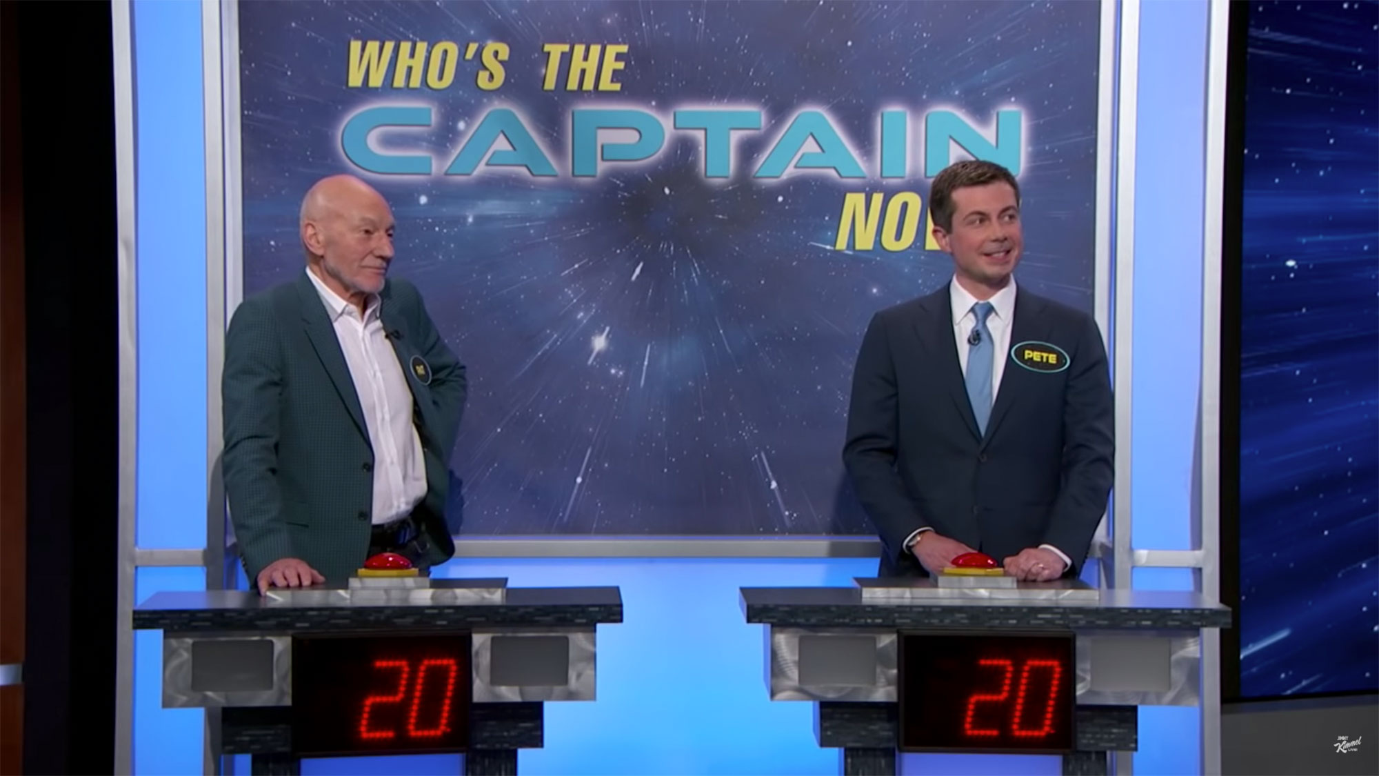 Star Trek Trivia – Sir Patrick Stewart vs Mayor Pete Buttigieg