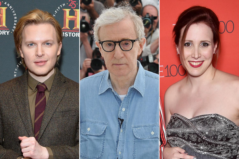 Ronan Farrow, Woody Allen, Dylan Farrow