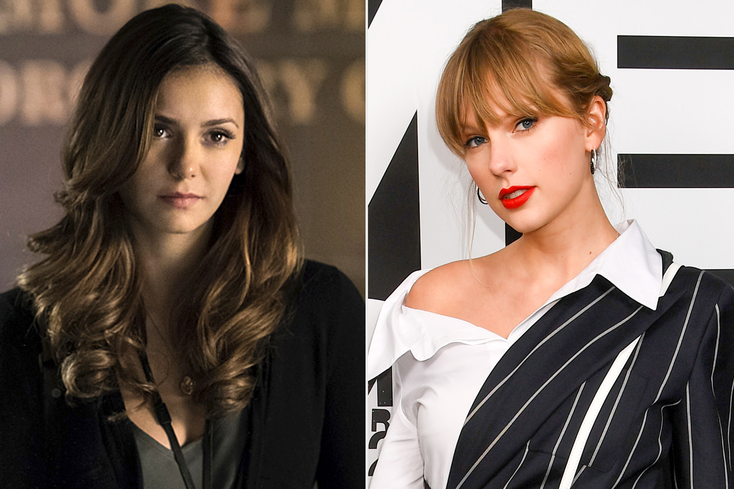 Nina Dobrev; Taylor Swift