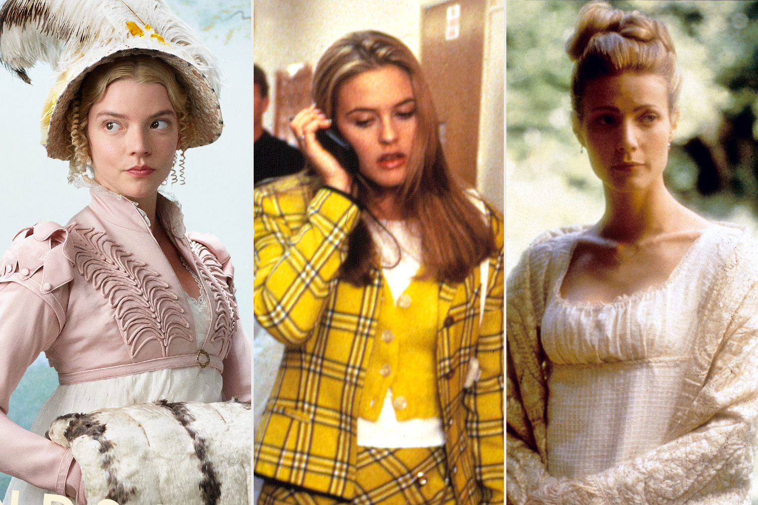 Anya Taylor-Joy, Alicia Silverstone, Gwyneth Paltrow