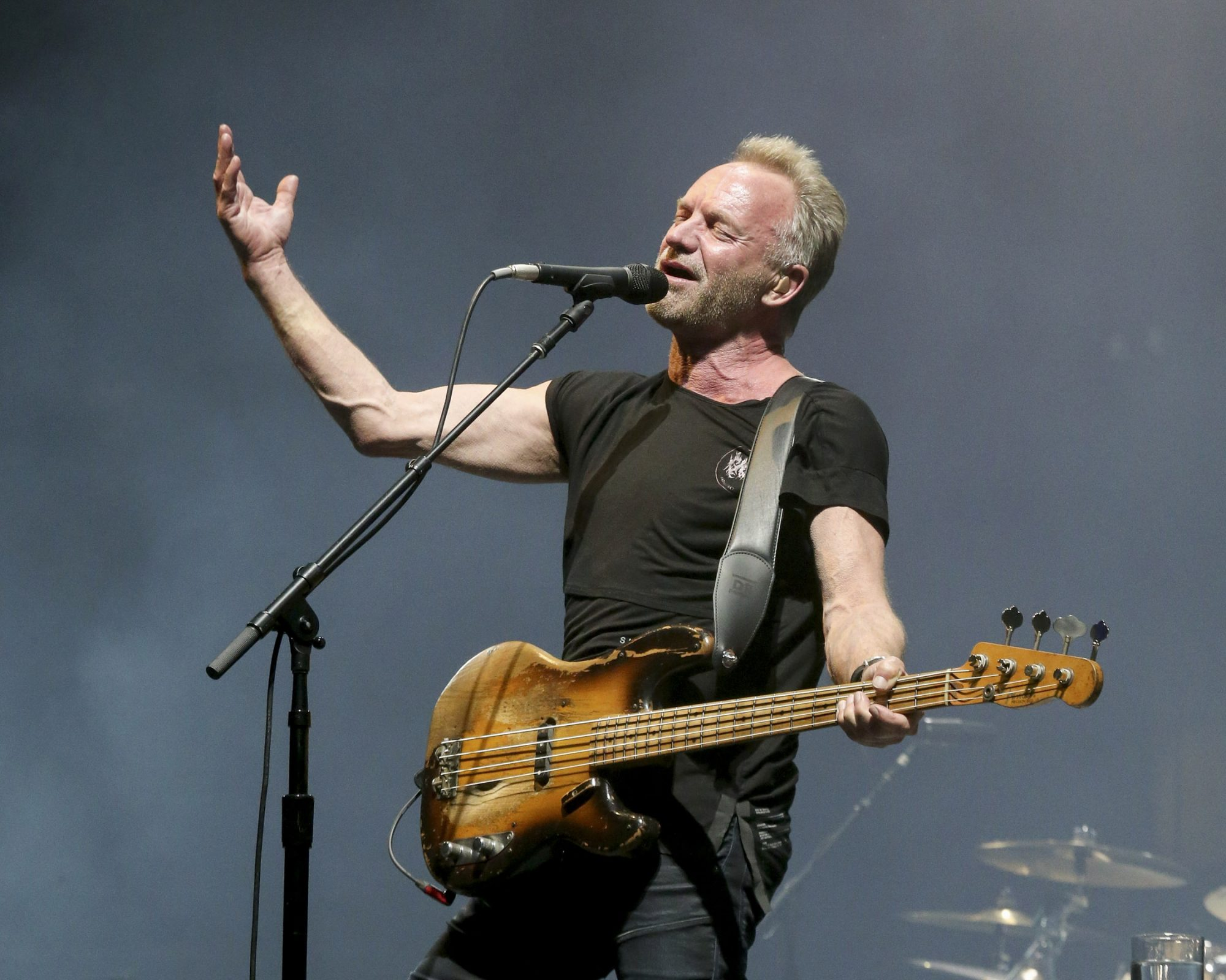ARLINGTON, TEXAS - MAY 12: Sting performs in concert during day three of KAABOO Texas at AT&T Stadium on May 12, 2019 in Arlington, Texas. (Photo by Gary Miller/Getty Images)
