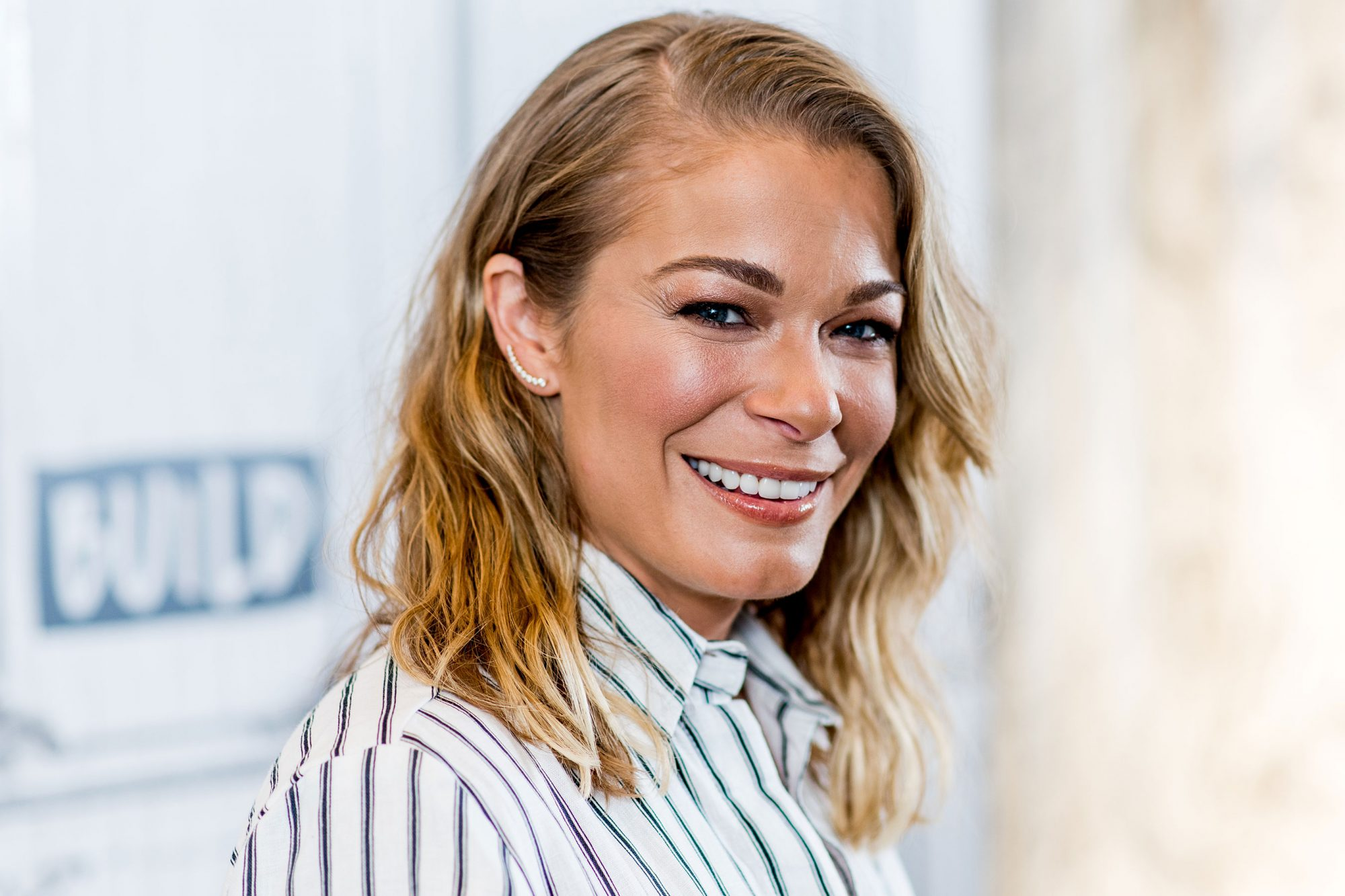 "Build Presents LeAnn Rimes Discussing The New Film ""Logan Lucky"""