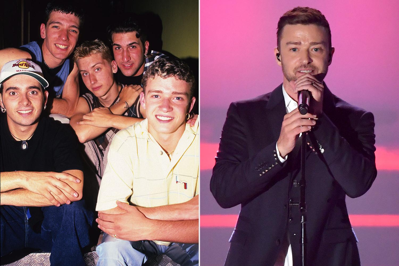 N Sync; Justin Timberlake