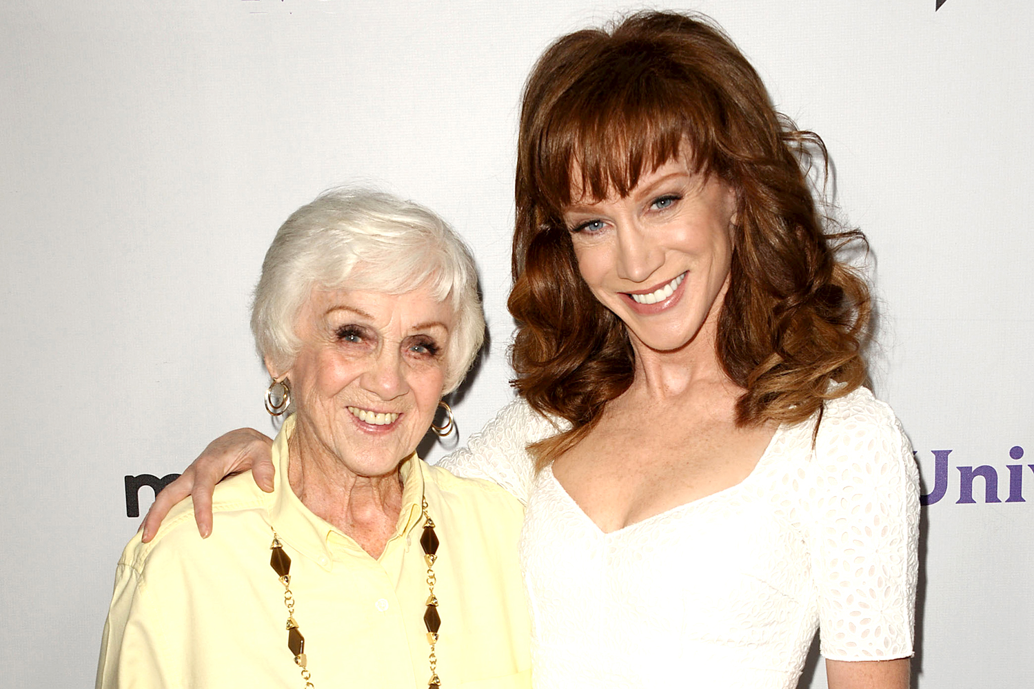 Kathy Griffin and mother Maggie Griffin