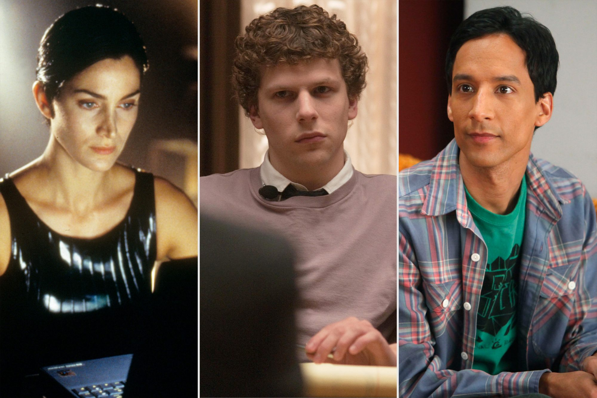 The Matrix, The Social Network, Community