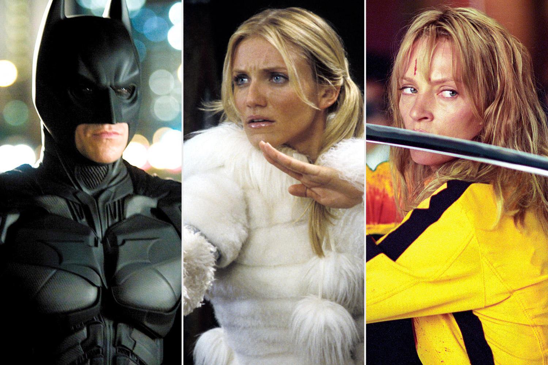 Dark Knight, Charlies Angels, Kill Bill