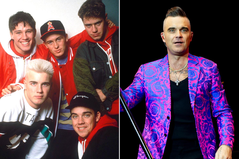 Take That; Robbie Williams