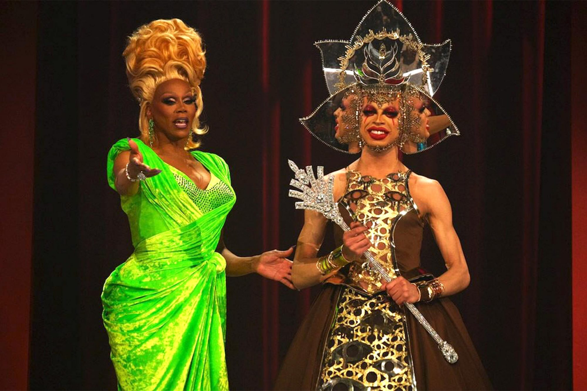 RuPaul's Drag Race Season 11 finale RuPaul and season 11 winner, Yvie Oddly