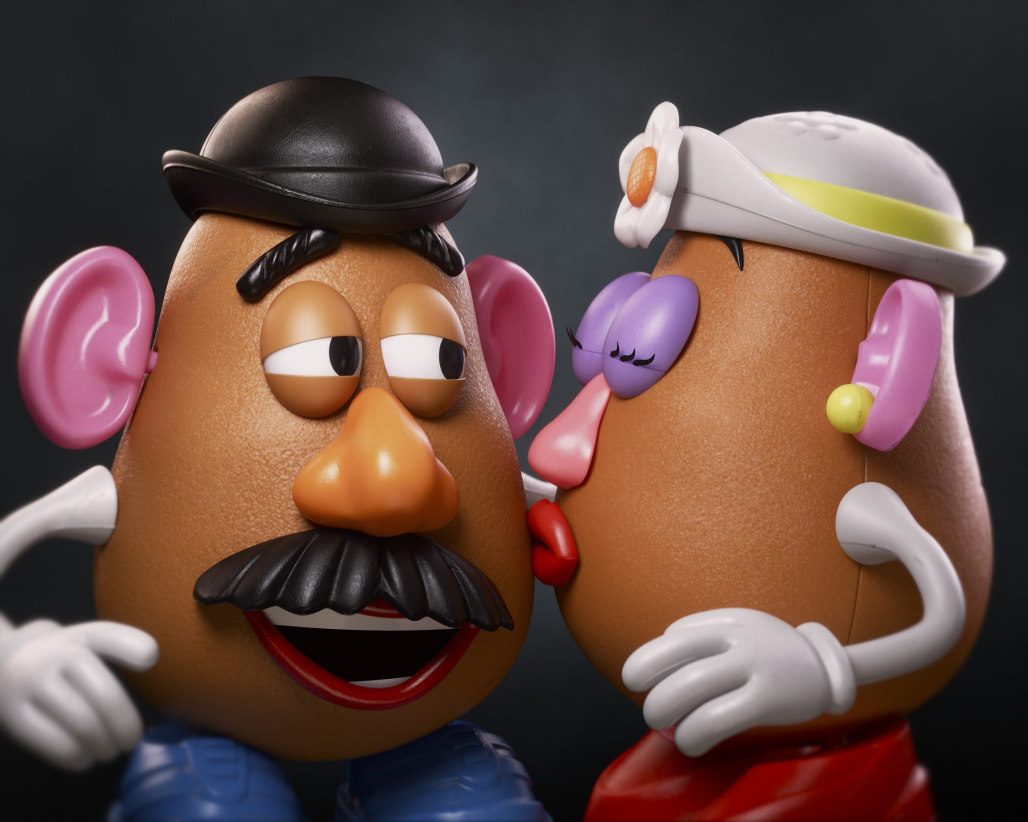 Toy Story 4 Mr. Potato Head and Mrs. Potato Head CR: Disney/Pixar