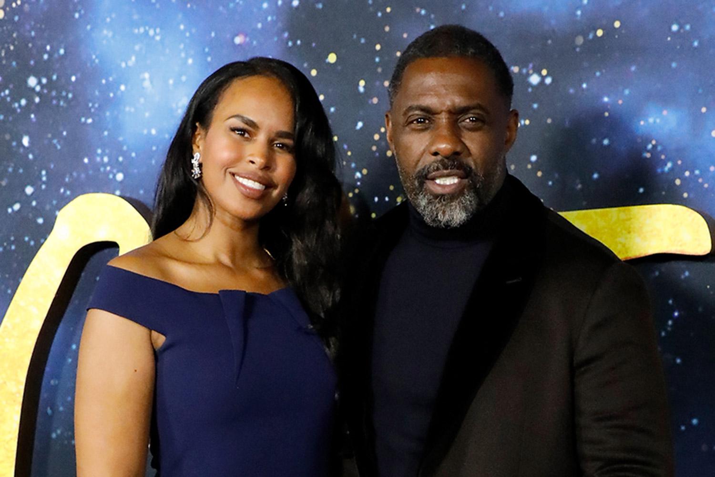 Idris Elba and his wife Sabrina Dwohre Elba