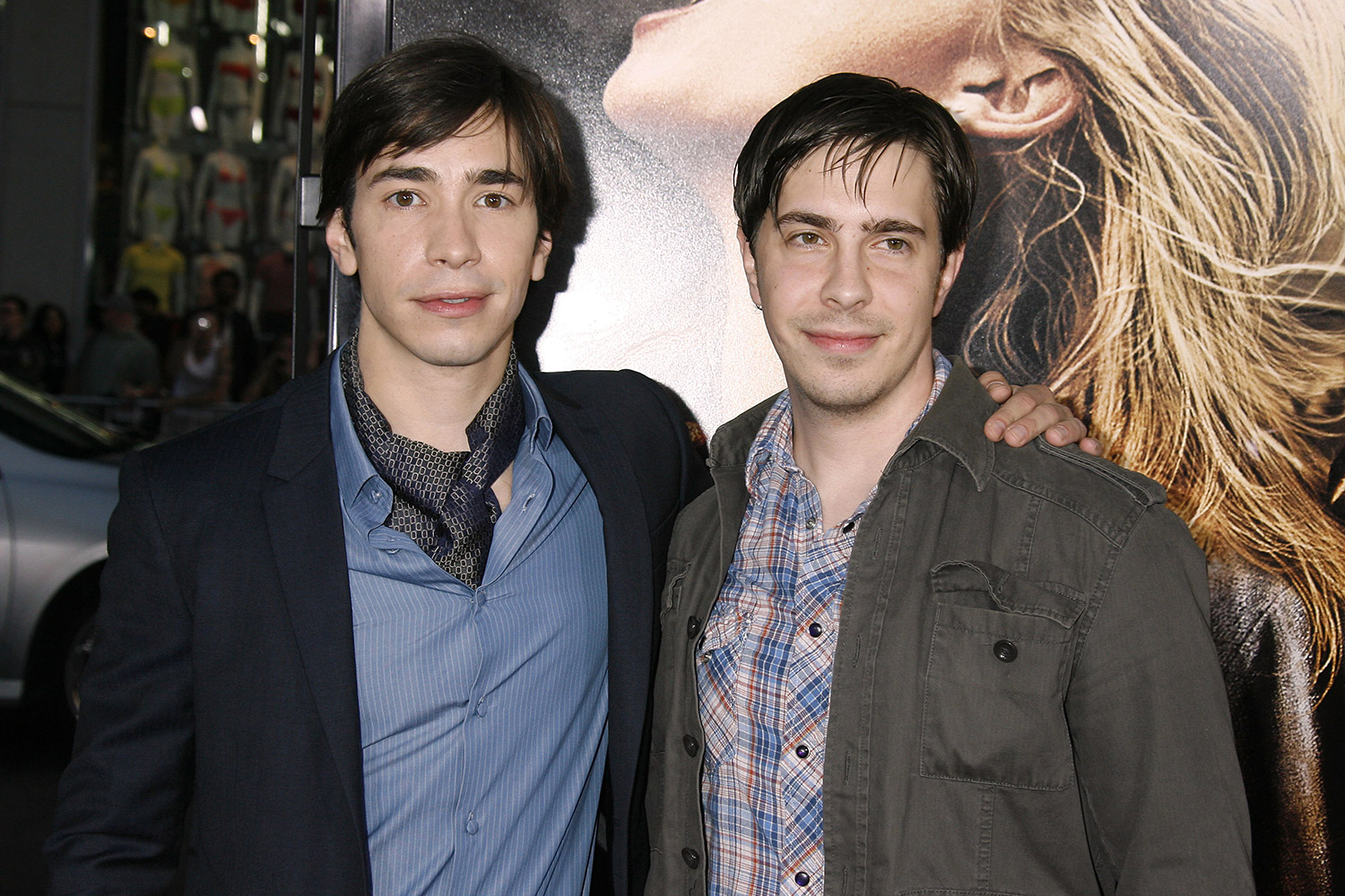 Justin Long and brother Christian Long