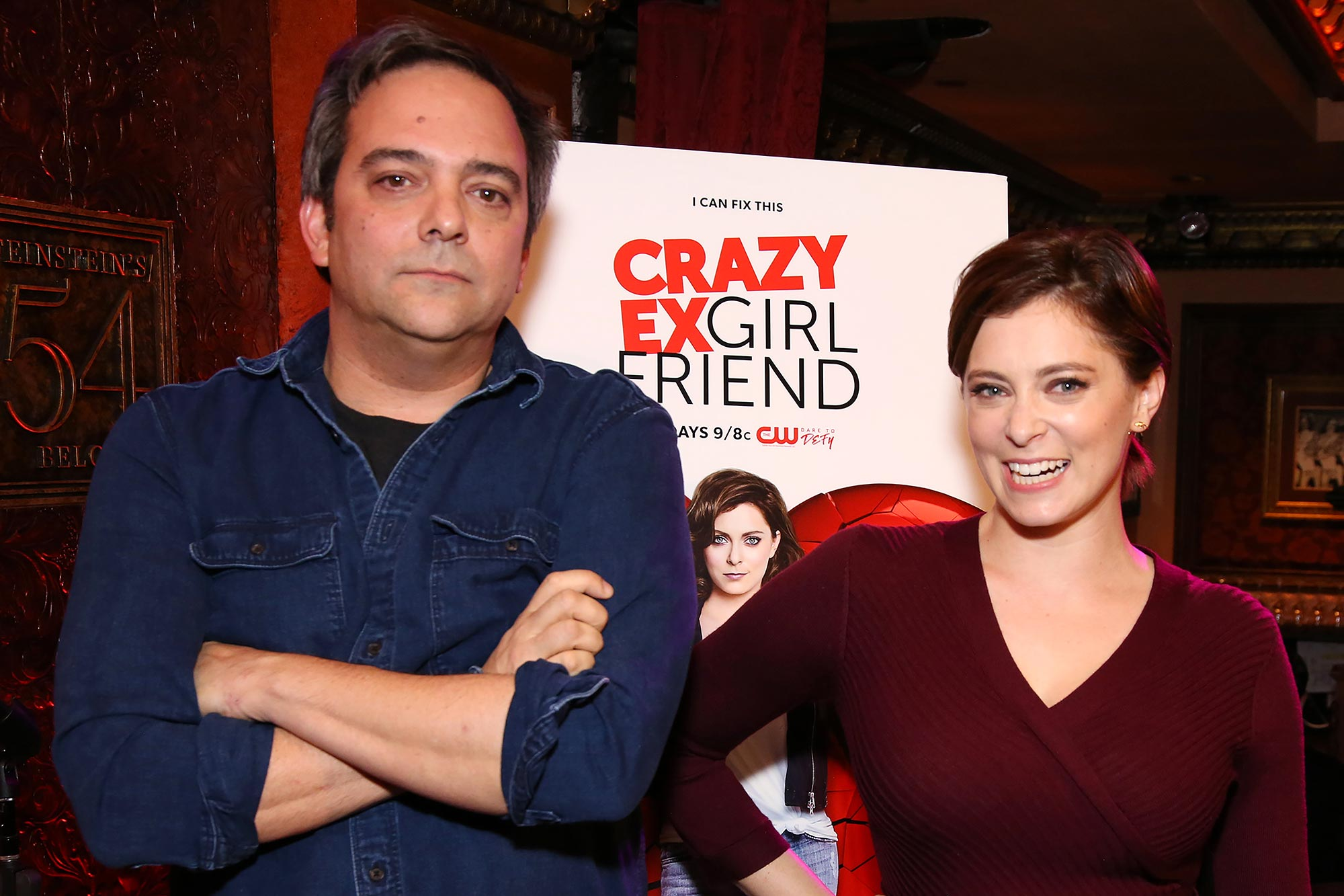 Rachel Bloom and Adam Schlesinger