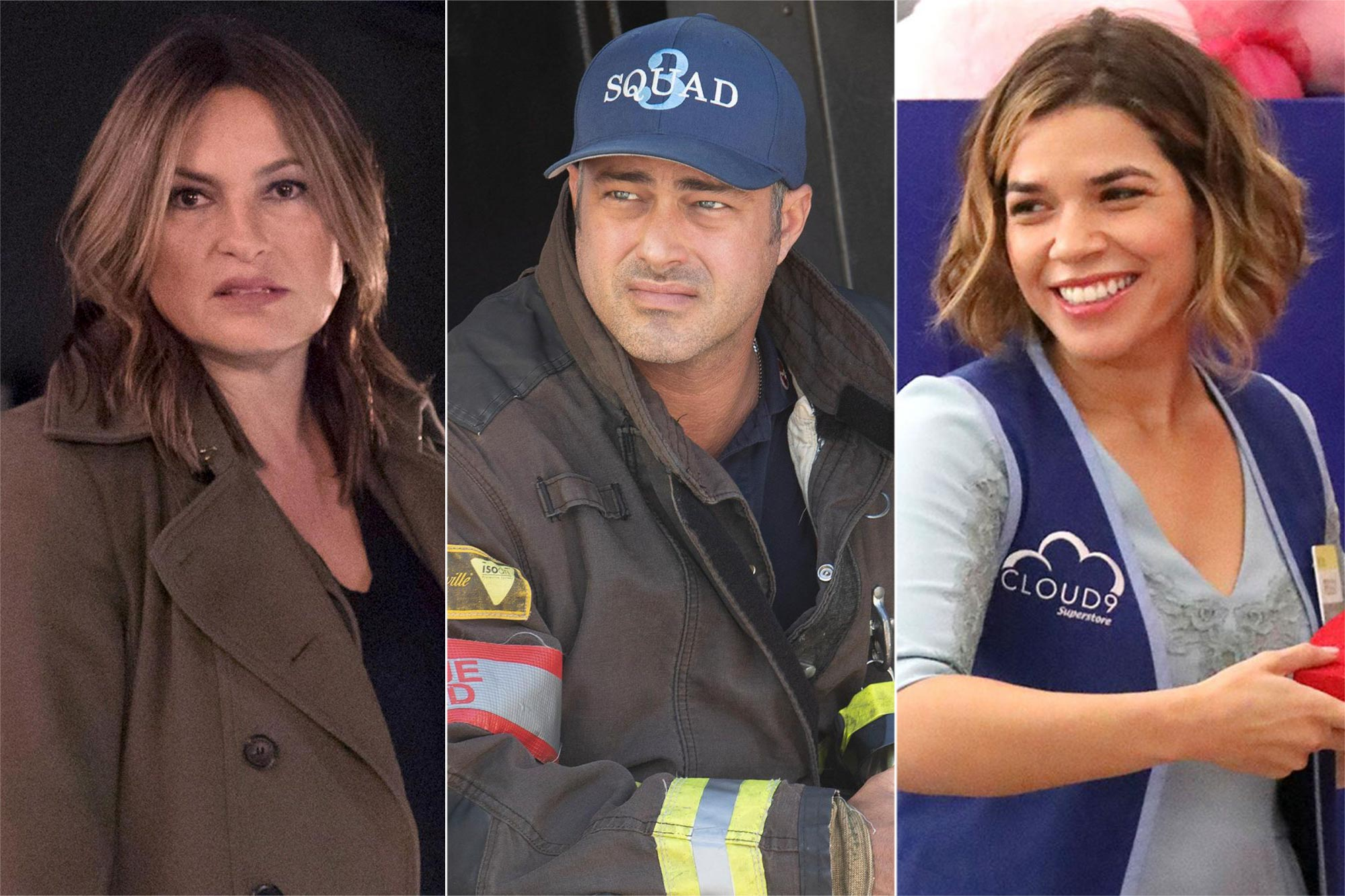LAW & ORDER: SPECIAL VICTIMS UNIT; CHICAGO FIRE; Superstore