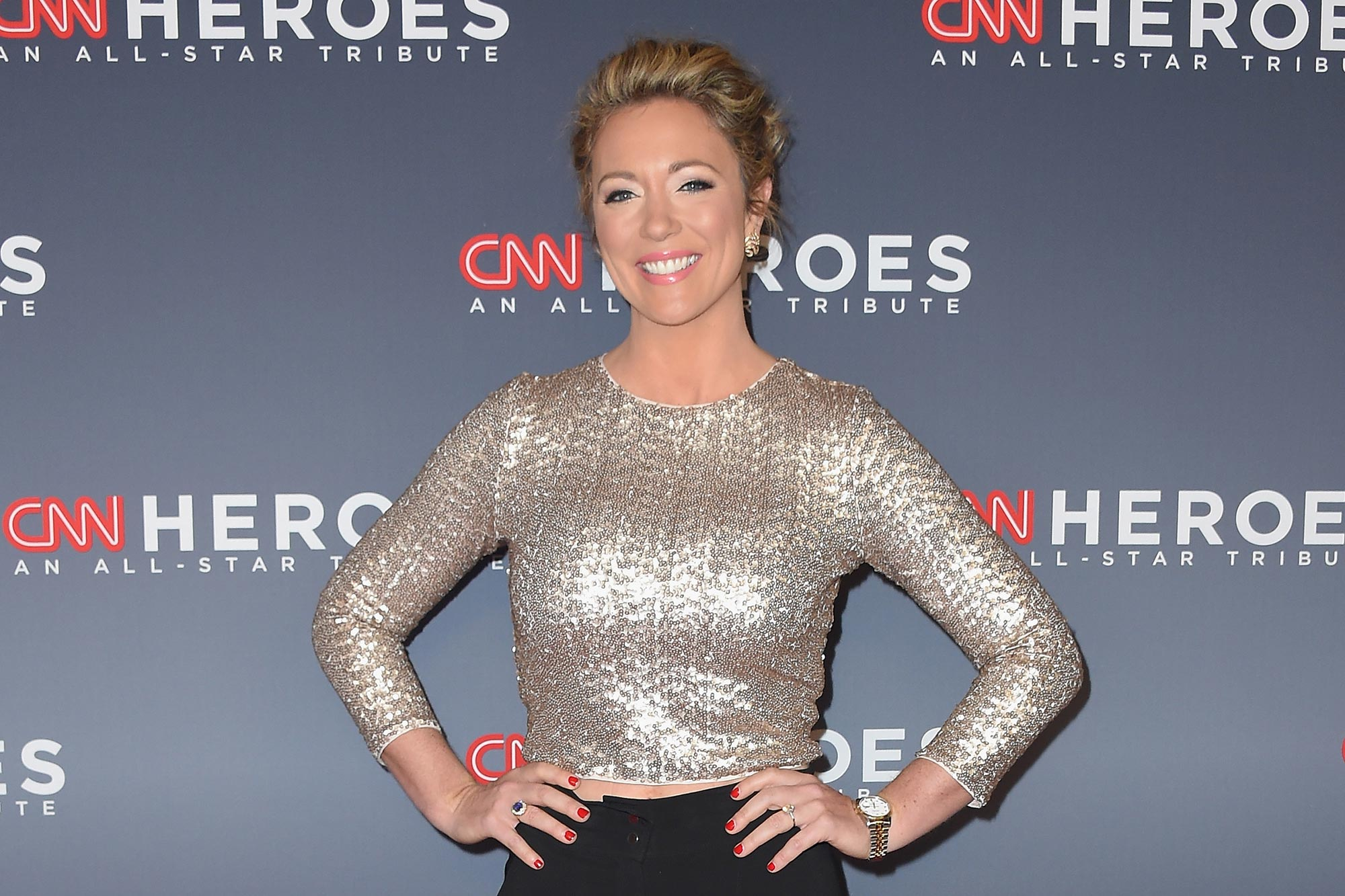 "CNN anchor Brooke Baldwin announced on Instagram April 3 that she had tested positive for coronavirus. ""I am OKAY,"" Baldwin wrote. ""It came on suddenly yesterday afternoon. Chills, aches, fever. I've been social distancing. Doing ALL the things we're being told to do. Still — it got me. I'm healthy… no underlying conditions… Honestly, I feel like one of the lucky ones.""                                       Baldwin is the second CNN anchor to test positive for the virus, following Chris Cuomo. Despite her diagnosis, Baldwin says she's looking forward to being back on TV ""real soon.""                                       ""And shout out to the doctors and nurses who are doing the real work right now,"" she added."