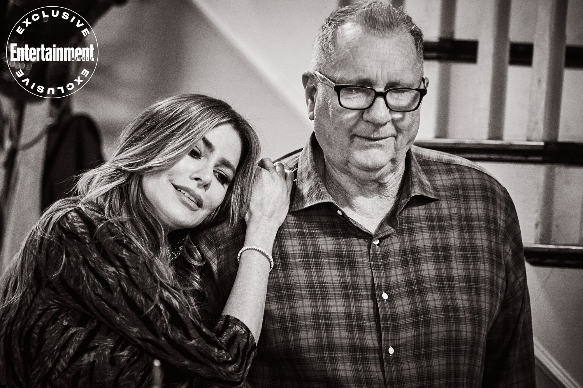 Sofia Vergara leans on Ed O'Neill for emotional support