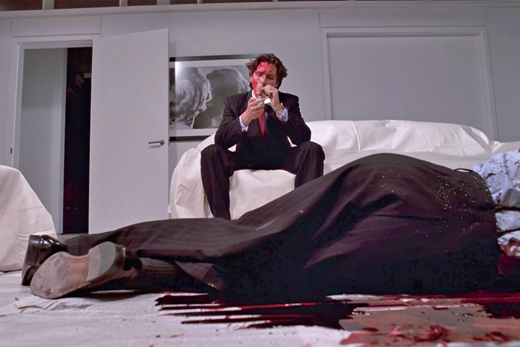 American Psycho: Inside Christian Bale and Jared Leto's big scene   EW.com