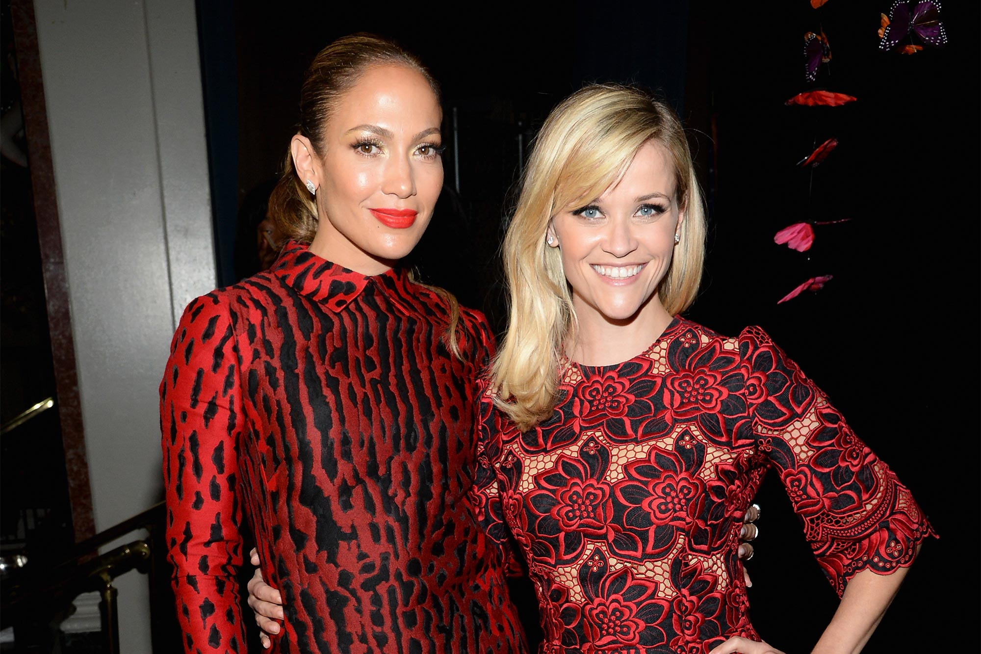 Jennifer Lopez and Reese Witherspoon