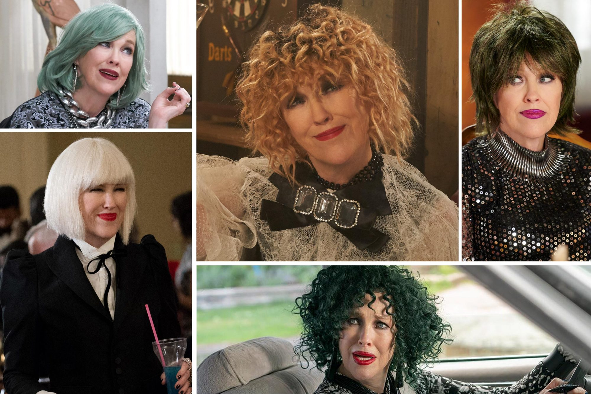 Schitt's Creek wigs